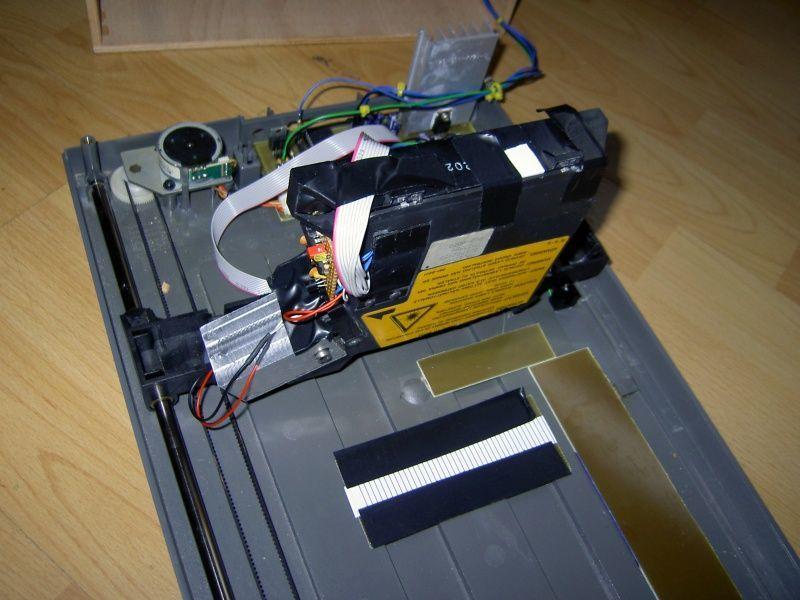 Делаем лазер из DVD 25