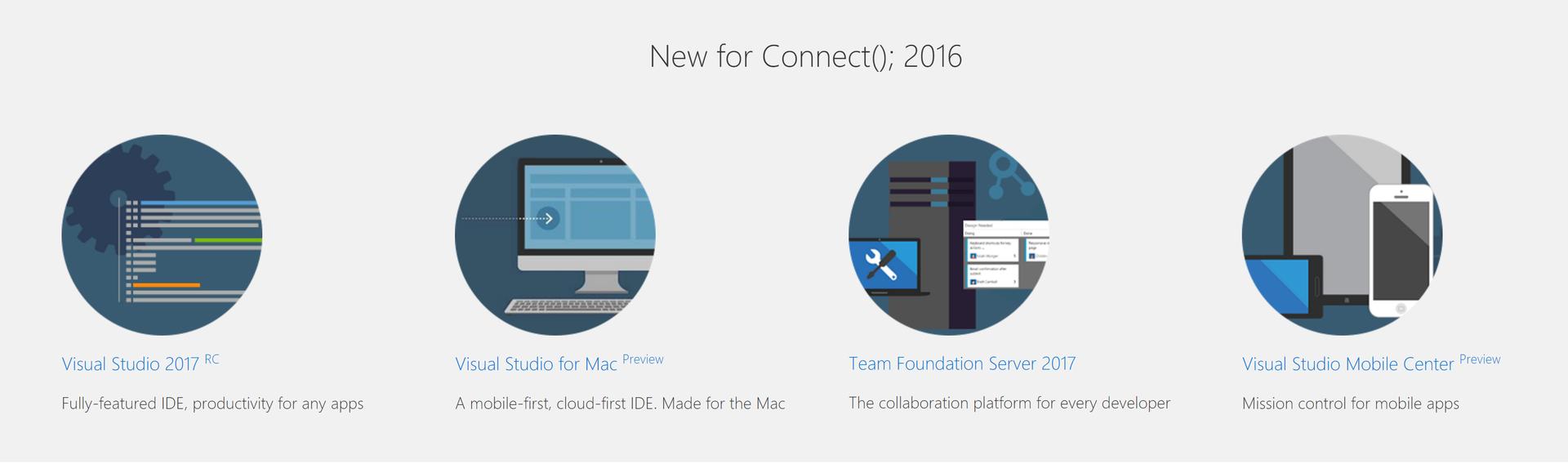 Visual Studio для Mac и другие новости конференции Connect(); //2016