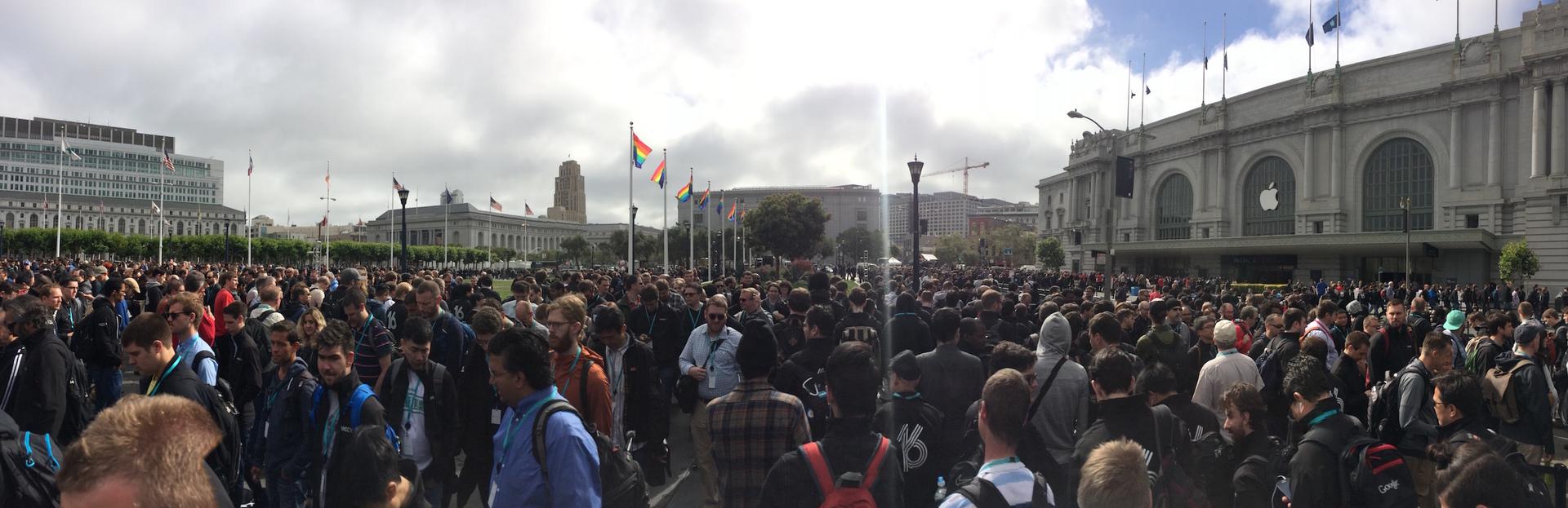 WWDC 16: первые впечатления с места событий