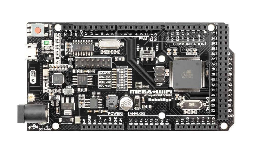 RobotDyn Mega + ESP8266