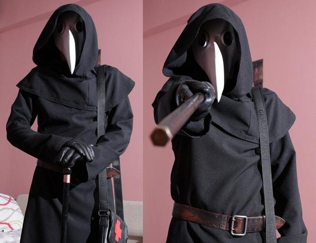 Чумная маска своими руками фото 985