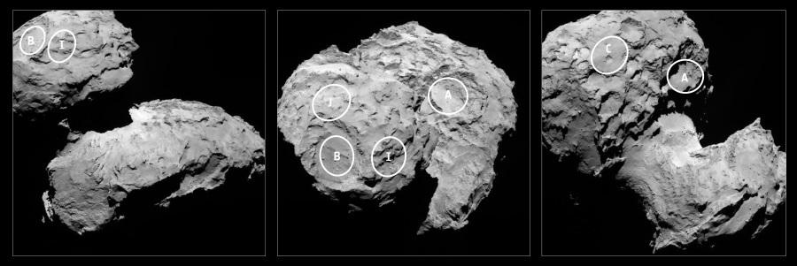 Специалисты ESA выбрали основную и альтернативную точки посадки для зонда P ...
