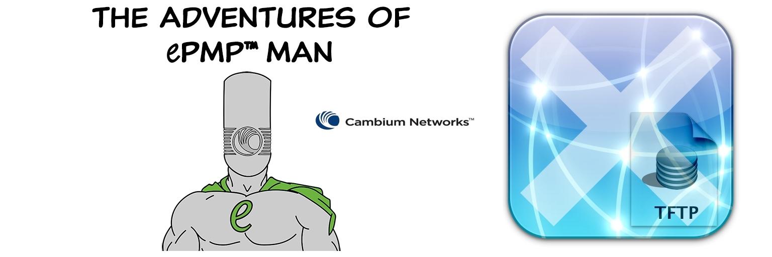 Восстановление прошивки устройств ePMP от Cambium Networks через TFTP