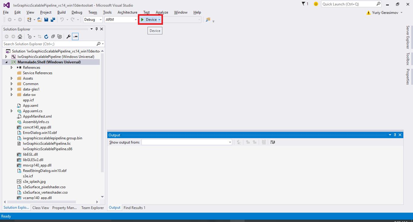 ... базе Marmalade на платформу Windows 10 перевод