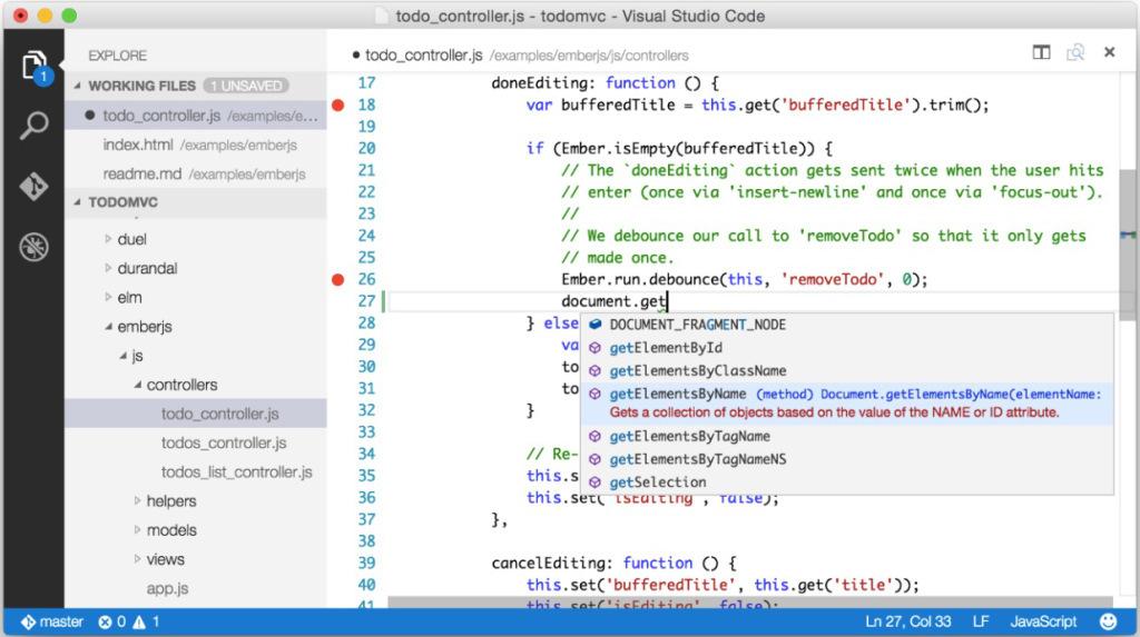 Microsoft анонсировала кроссплатформенный редактор для Windows, OS X и Linux