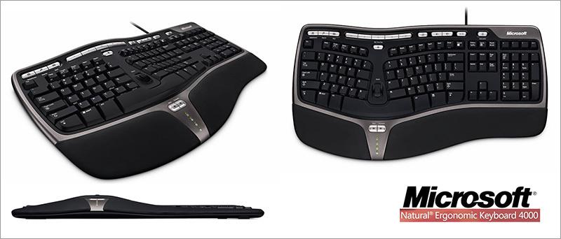 microsoft natural ergonomic keyboard 4000 user manual