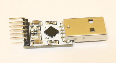 Модифицирование преобразователя USB-UART на чипе CP2102 для использования в ...