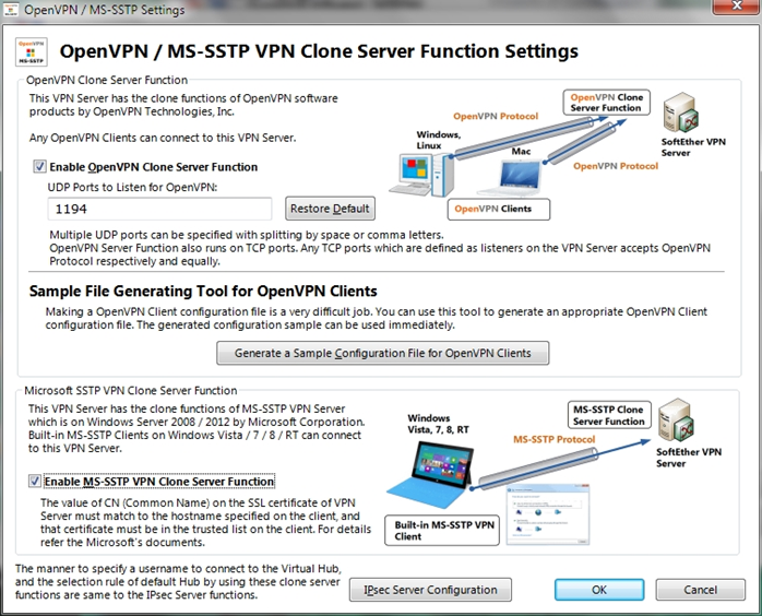 NAS + SoftetherVPN = универсальный VPN сервер