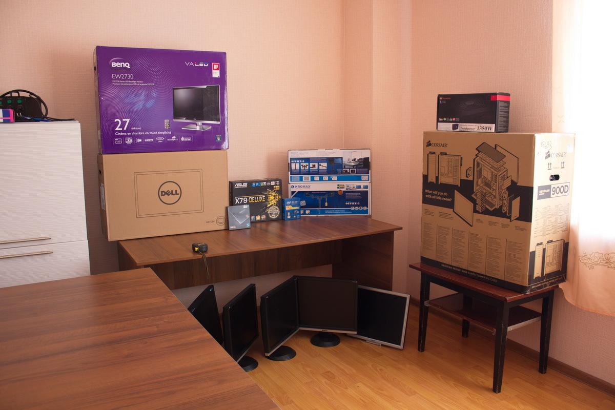 27d11c562d75459fada47e82bf873aee Рабочий стол трейдера, своими руками(10 мониторов)