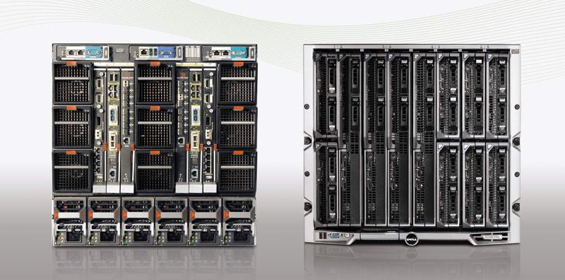 Блейд-коммутация в шасси Dell PowerEdge M1000e