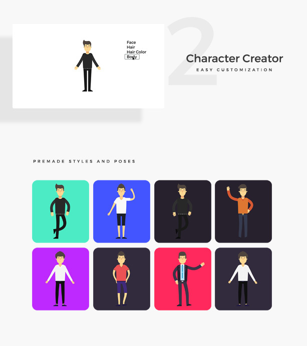 Videohive Company Explainer l Flat Collection » free after ...