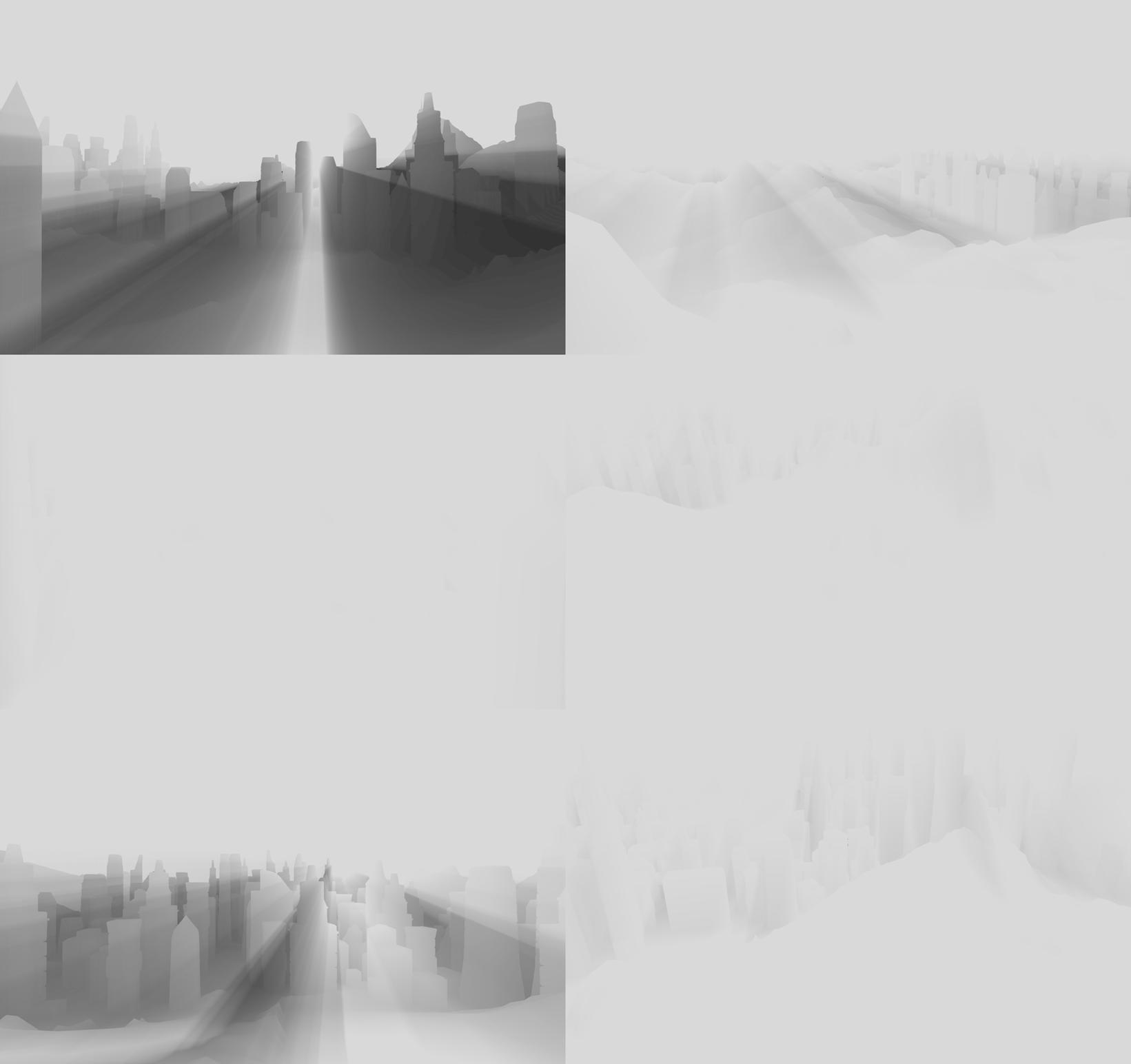 Атмосферное рассеяние в ролике The Blacksmith