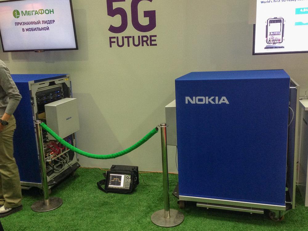 Как Мегафон и Nokia в Нижнем Новгороде 5G-сети демонстрировали