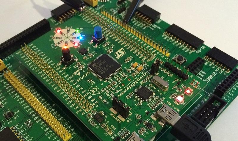 STM32 и FreeRTOS  1  Развлечение с потоками / Хабр