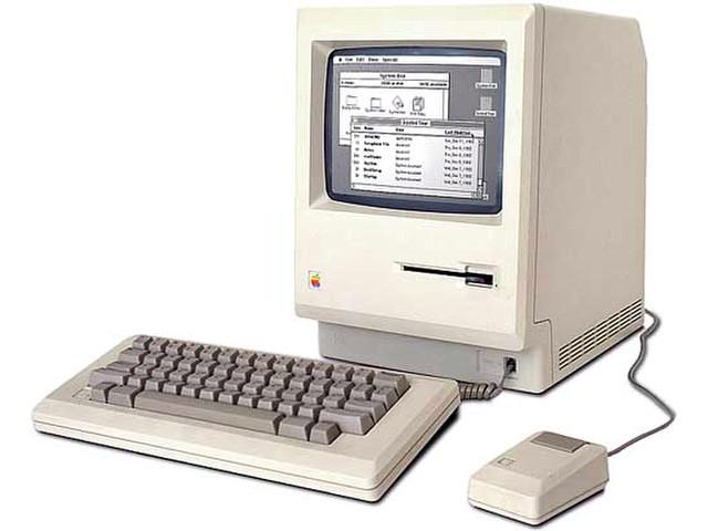 Всплыли старые фотографии с презентаций компании Apple с 1984 года