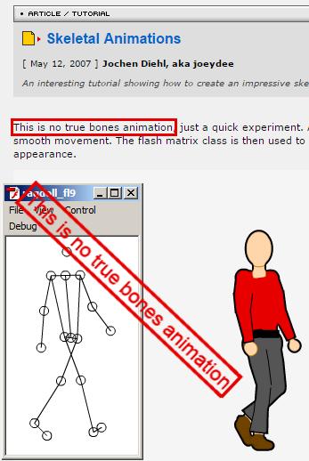 mocap на коленке (Skeletal Animations 2)