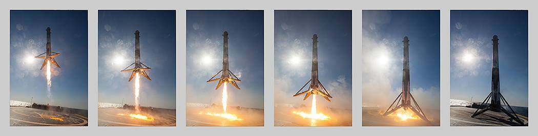 SpaсeX установила срок для вторичного запуска «проверенной в космосе» ступени Falcon 9