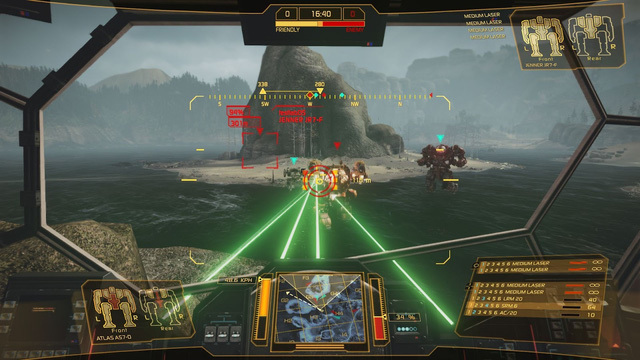 Компенсация лагов для оружия в MechWarrior Online