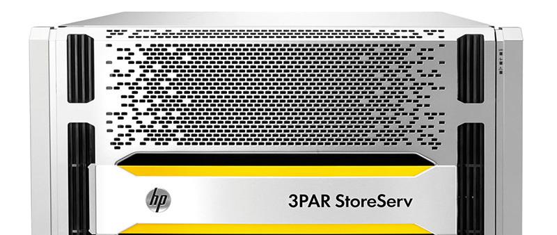 Новое поколение HP 3PAR StorServ заточено на использование флэш-памяти
