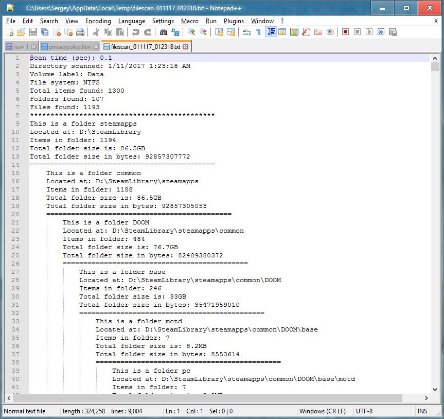 Простое, но эффективное расширение Explorer-а (shell extension) для визуализации файлов