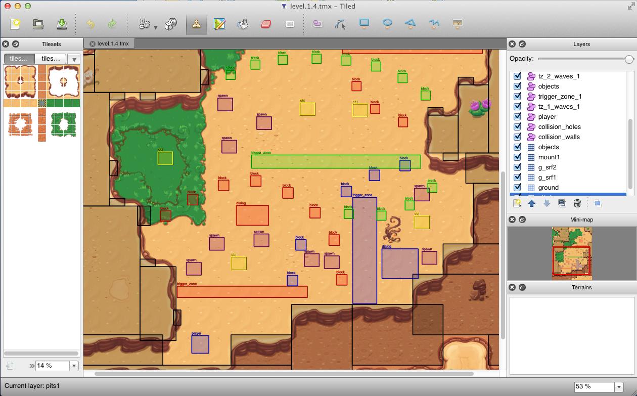 2d Tile editor – Tiled
