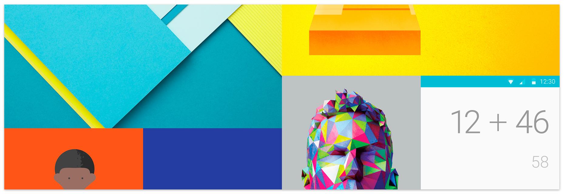 Дизайн и юзабилити: Главные принципы Material Design
