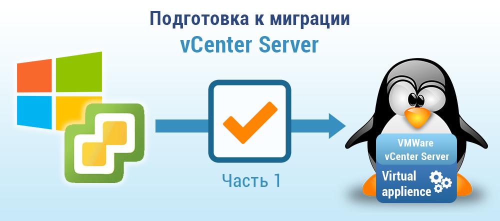 Подготовка к миграции vCenter Server в vSphere 6.0 Update 2m. Часть 1