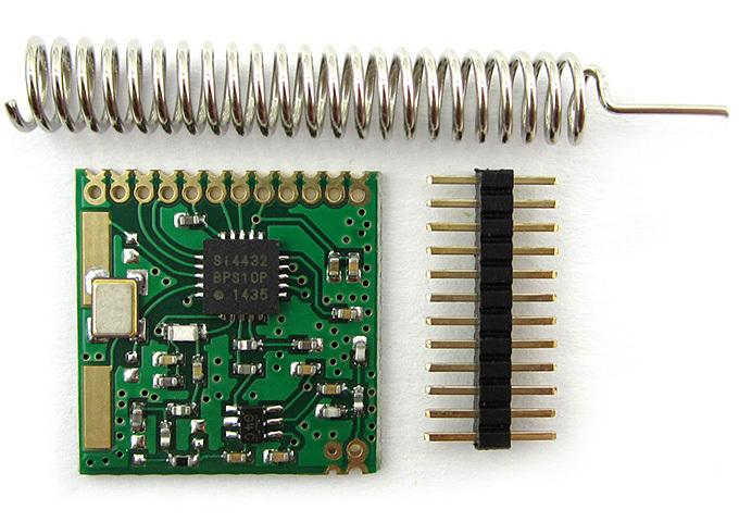 433Mhz Wireless Serial Transceiver Module - 1 Kilometer