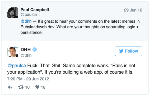 Rails is your app