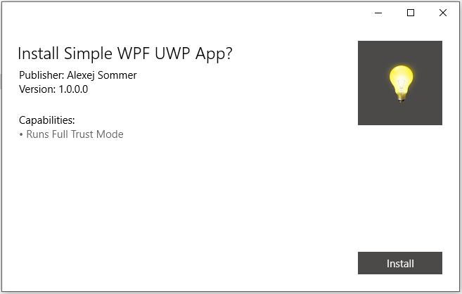 Конвертируем десктопное приложение в appx с помощью Desktop