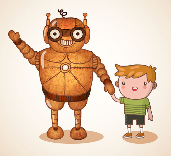 Фото роботов рисунки детей 57