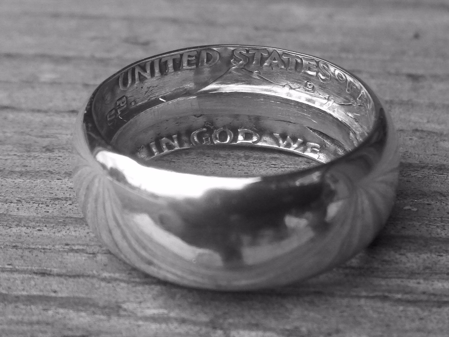 Делаем кольцо из обычной монеты