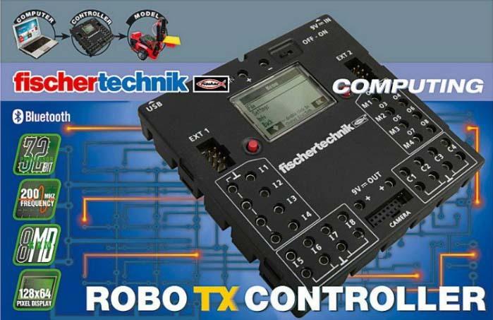 Как написать собственную программу для контроллера ROBO TX