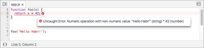 Runtyper warning example