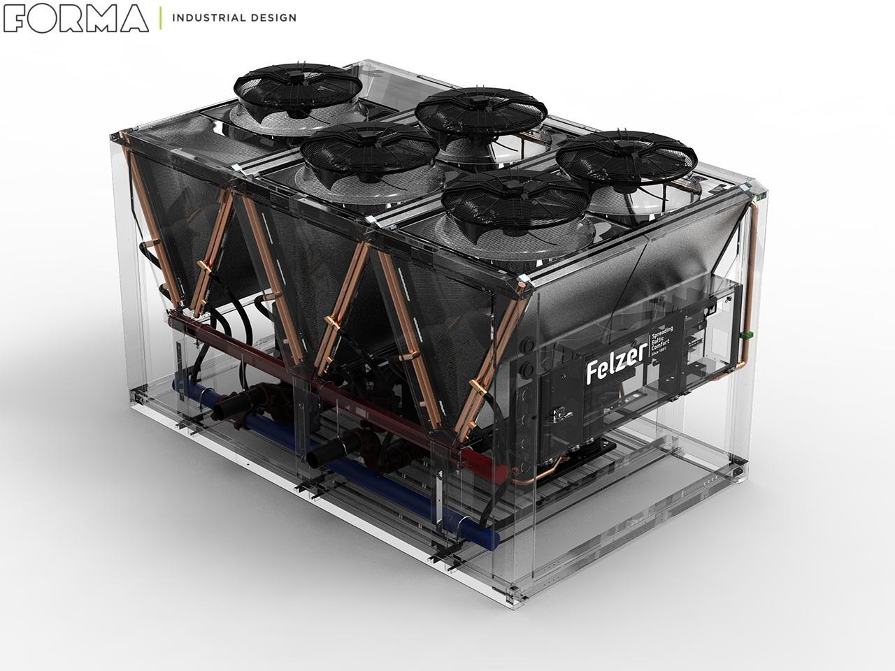 Проектирование чиллера Felzer Airplus