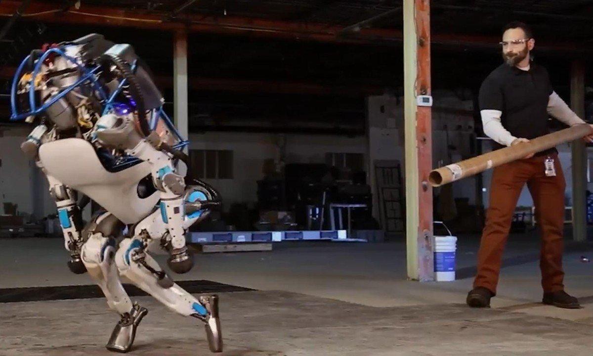 Softbank купила у Google Boston Dynamics