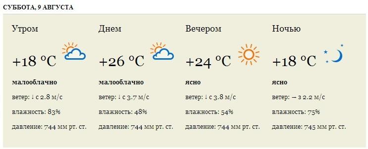 И снова Яндекс.Погода для сайта: время суток, направление ветра и прочие параметры