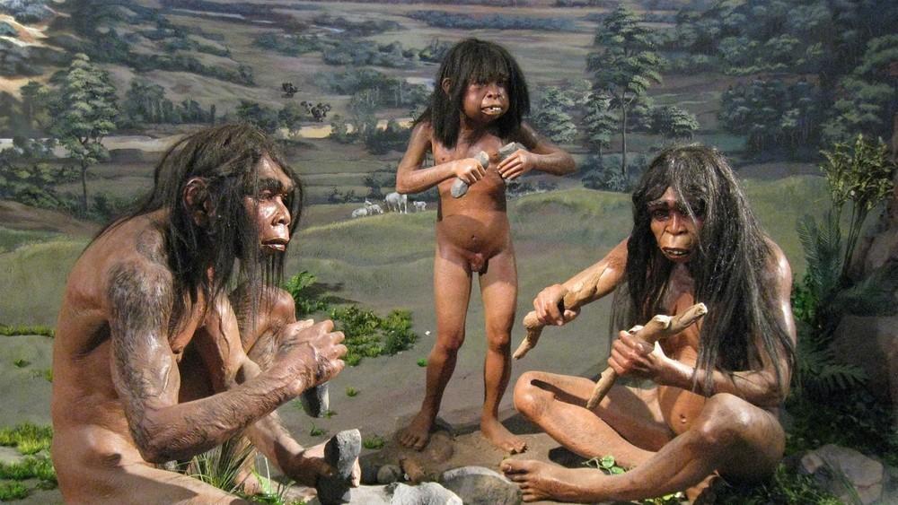 Порно картинки древних людей
