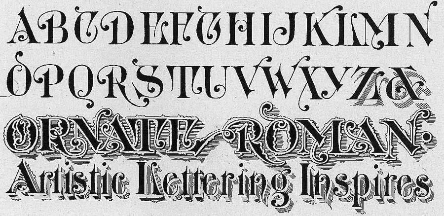Немного о рукописных шрифтах из