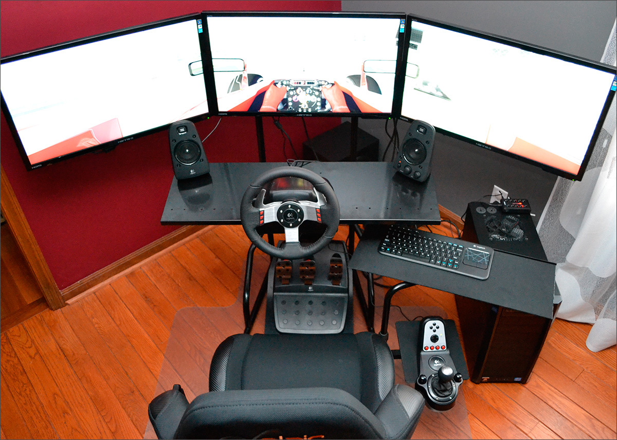 Logitech G27 When There Is A Wish For A Sport Car Wheel