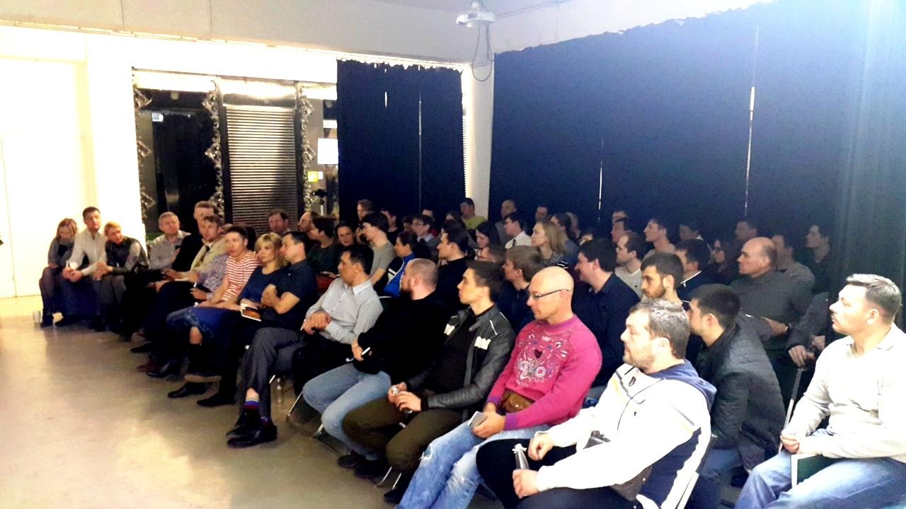 74 человека присутствовало на блокчейн-митапе