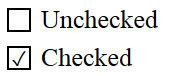 стилизованный checkboxc