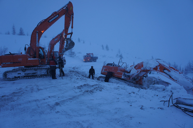 Optimization of communication links for mining in the north of Russia
