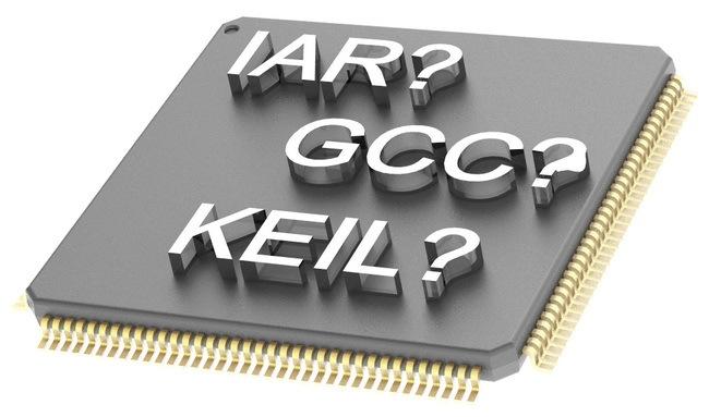 Сравнение компиляторов для разработки на микроконтроллерах с