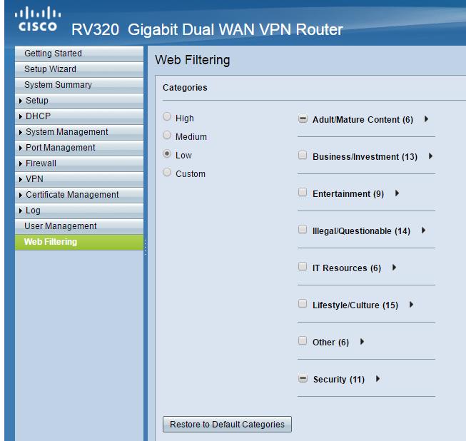 How to setup vpn on cisco rv320