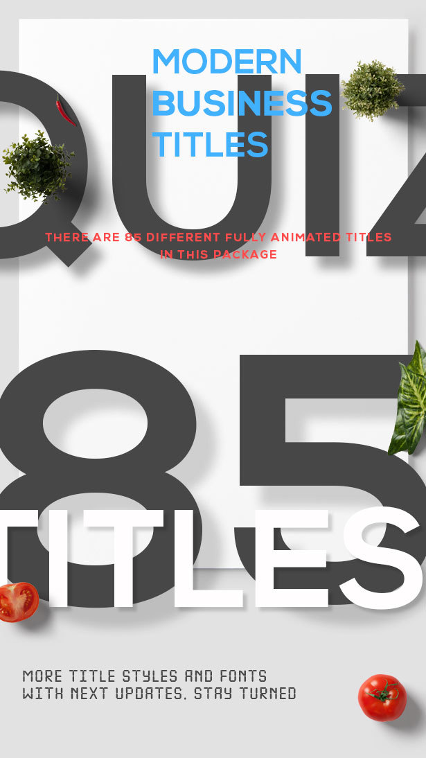 quiz l 85 modern business titles by numerals videohive