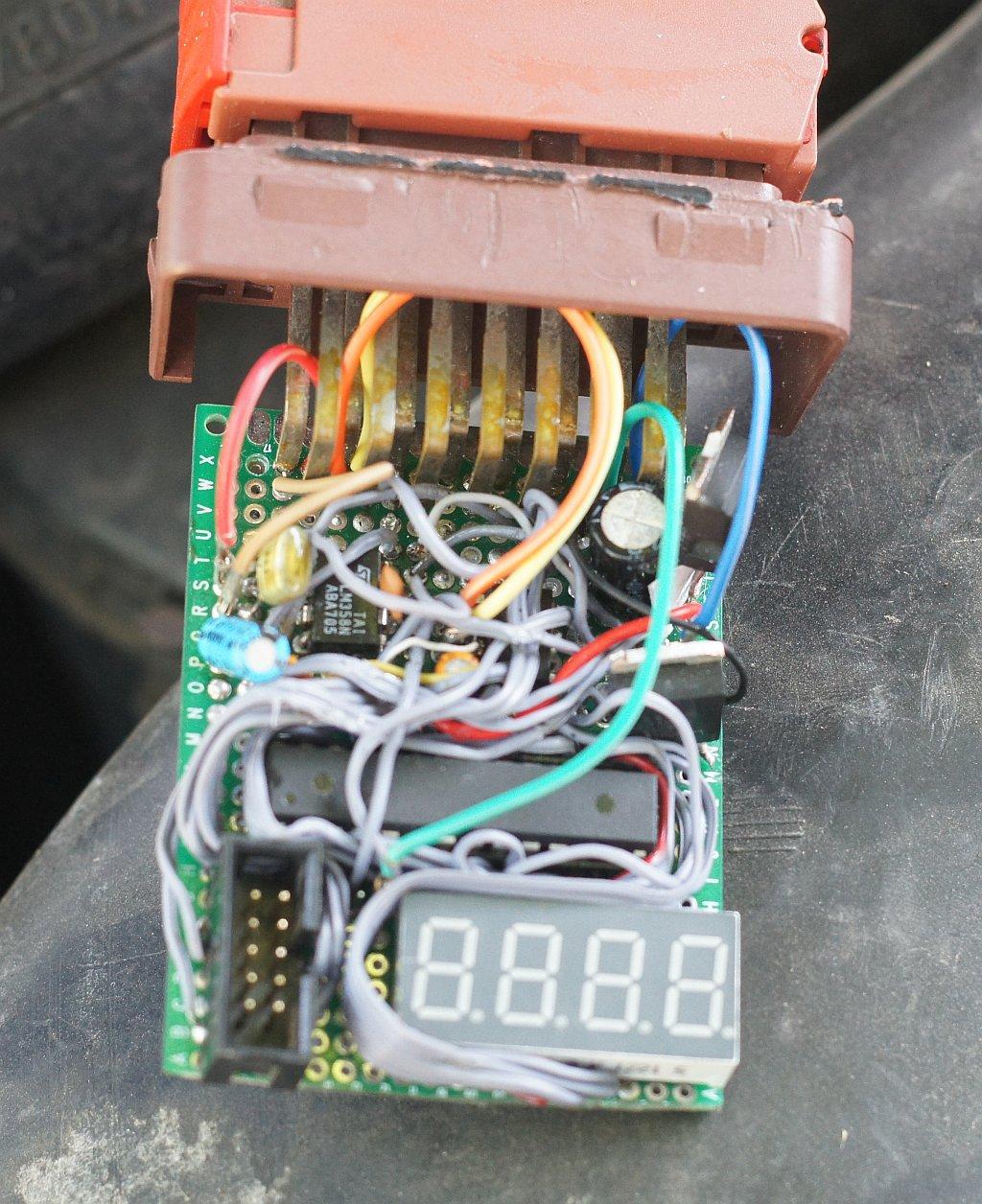 Самодельный блок управления для дизельного двигателя