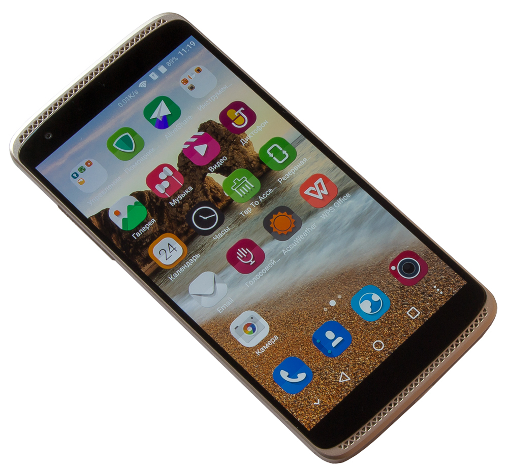 "The overview of the ZTE Axon Mini smartphone – oh these ""pass"""