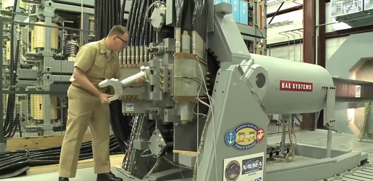 Этим летом США проведут морские испытания рельсотрона