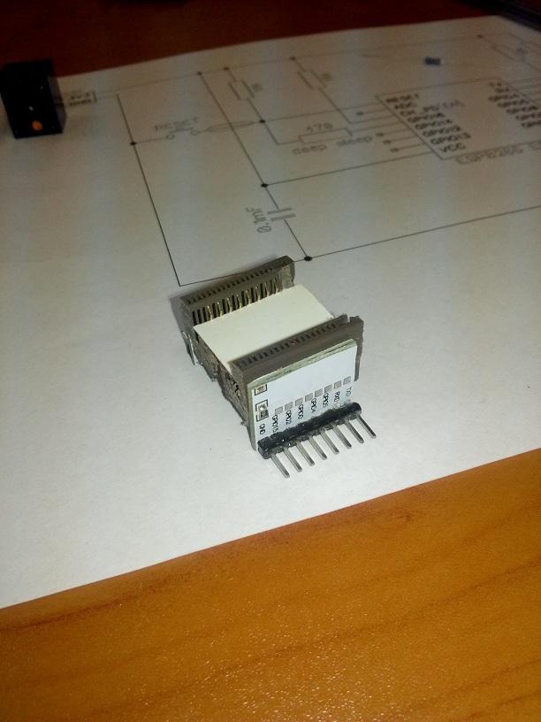 Панелька для ESP8266 ESP-12